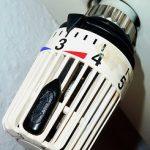 Thermostatventil des Heizkörpers ist kein Wasserhahn